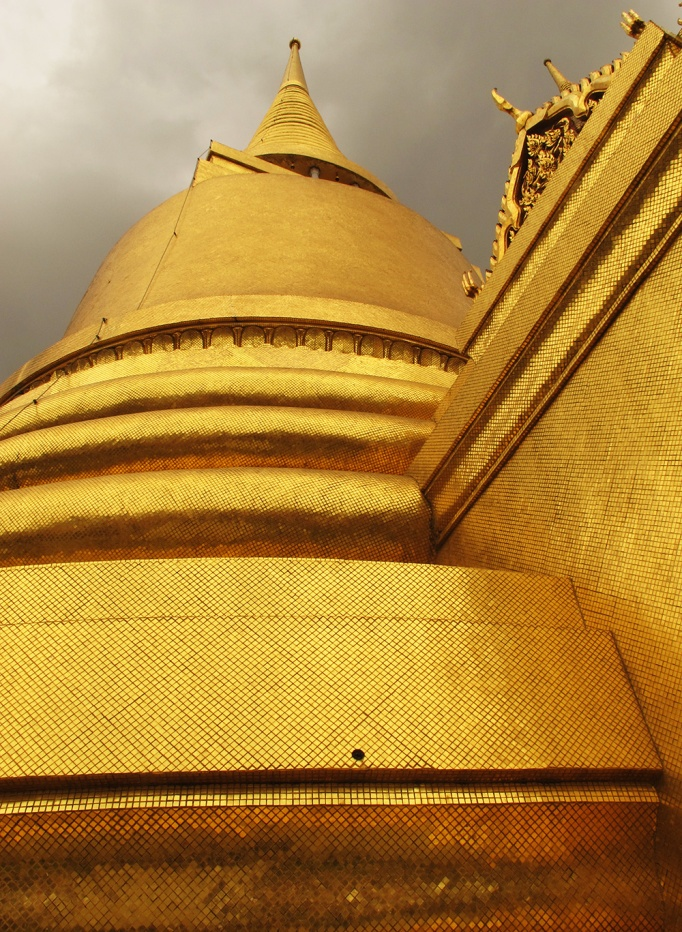 Golden Cheddi, Royal Palace, BKK, Thailand
